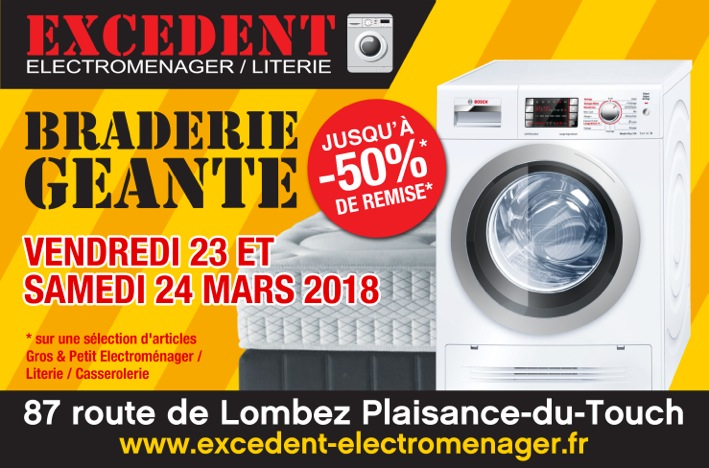 Braderie ce weekend