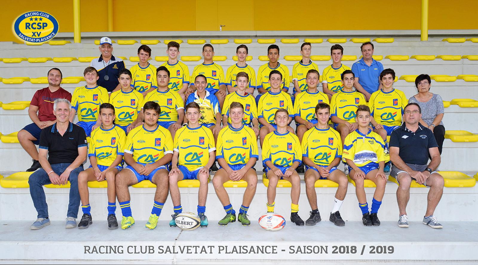 U16 - Cadets - Racing Club Salvetat-Plaisance